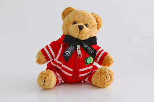 teddy medic black ribbon