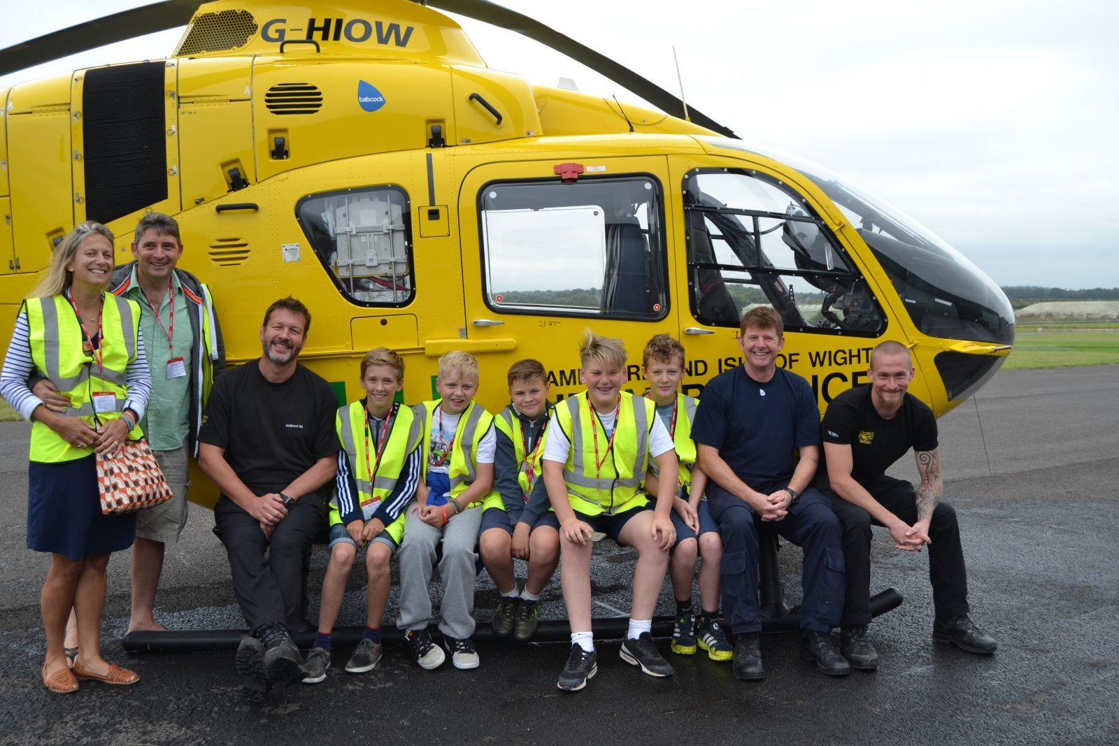 Felix Barrow Visits Our Airbase To Meet The Crew Who