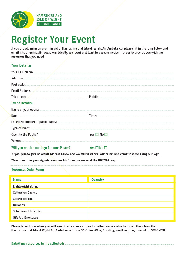 Register Your Event