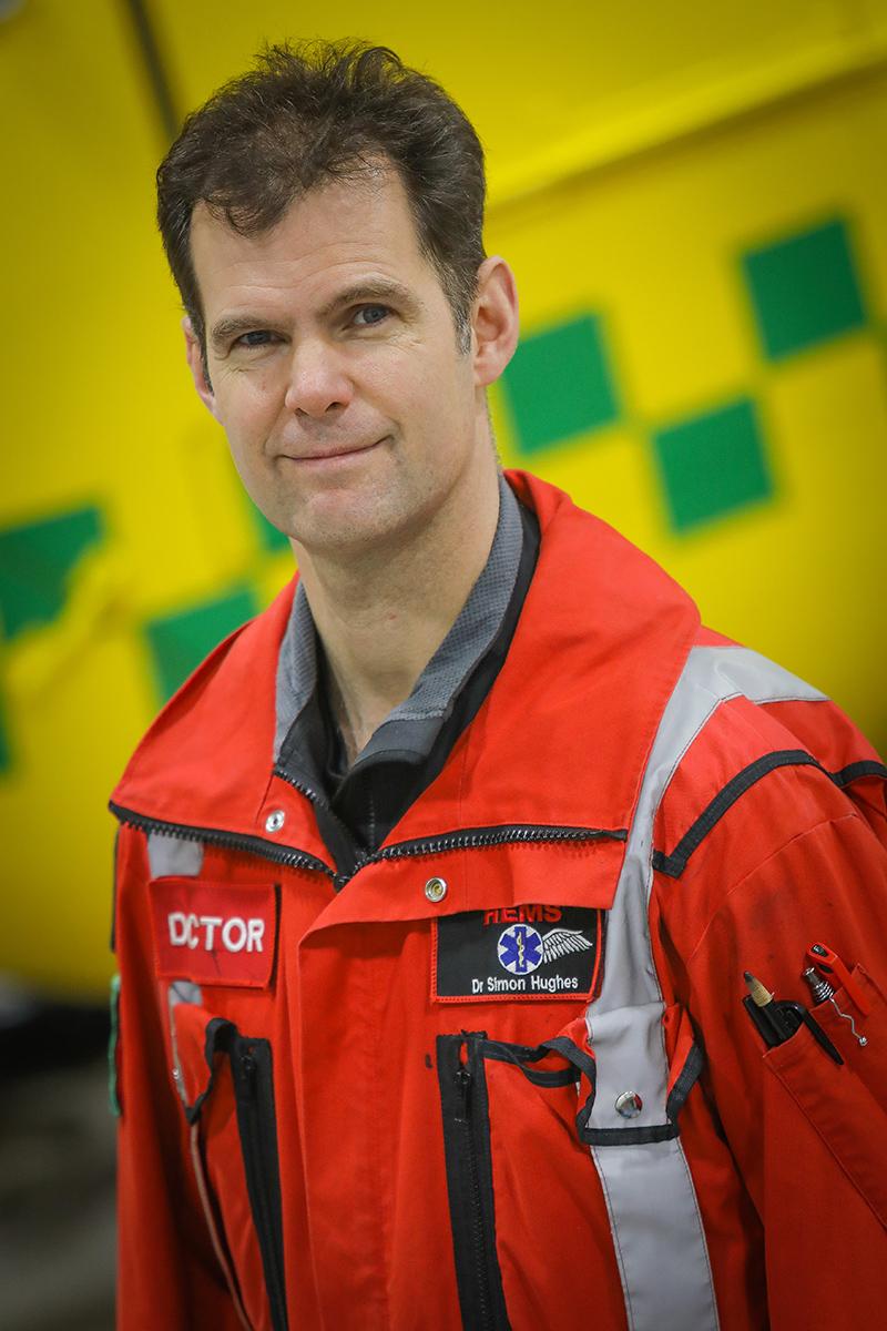 Dr Simon Hughes- Clinical Governance Lead