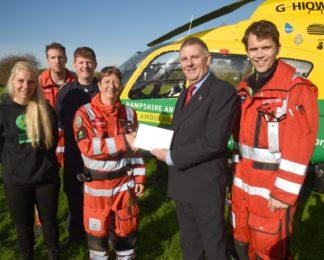 Driver Awareness Training in Hampshire has raised £115,000 for HIOWAA