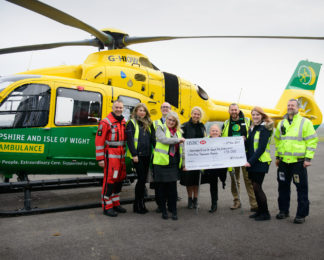 Red Funnel raise £55,000 for HIOWAA.