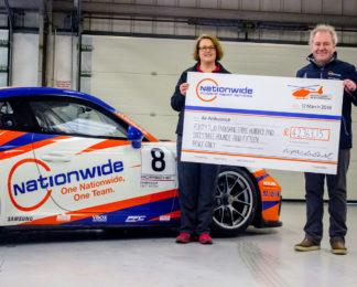 Nationwide Accident Repair Service raise over £42,000 for UK Air Ambulances.