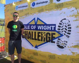HIOWAA paramedic powers through the Isle of Wight Ultra Challenge!