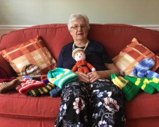 Knit one, purl one for HIOWAA