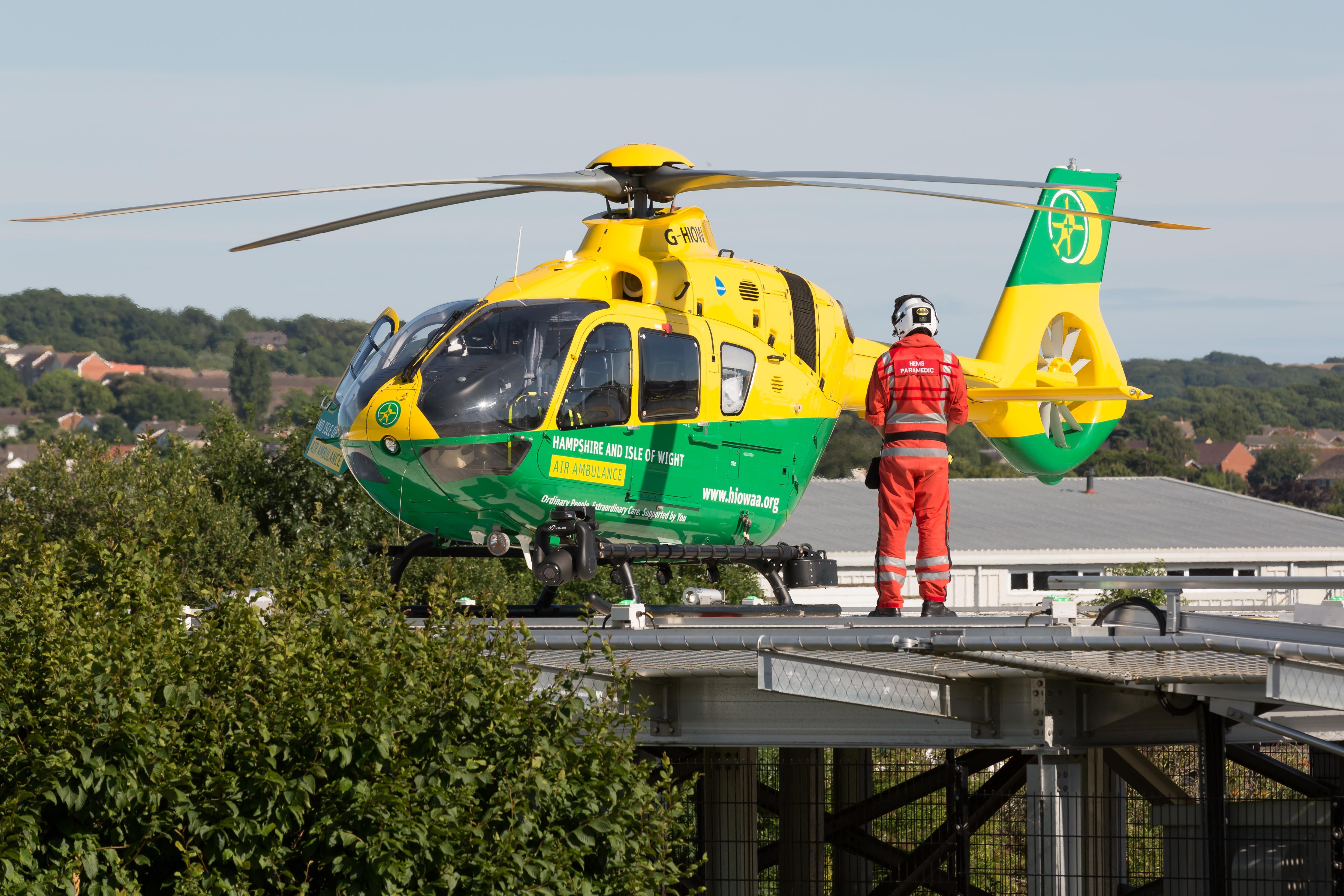Legacies Hampshire And Isle Of Wight Air Ambulance