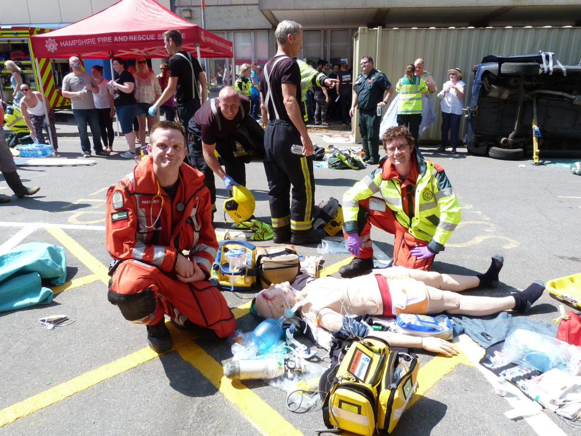 Major Trauma Grand Sim 2017 Hampshire And Isle Of