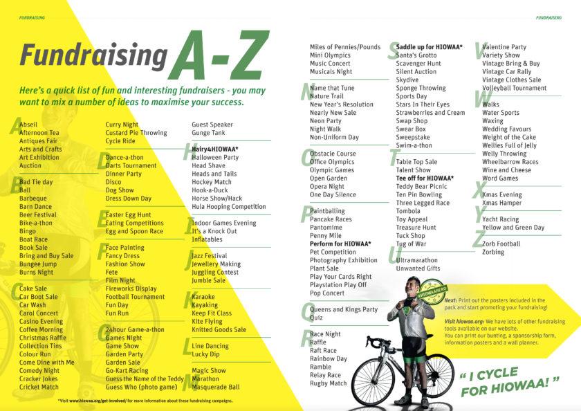 A-Z Fundraising Ideas