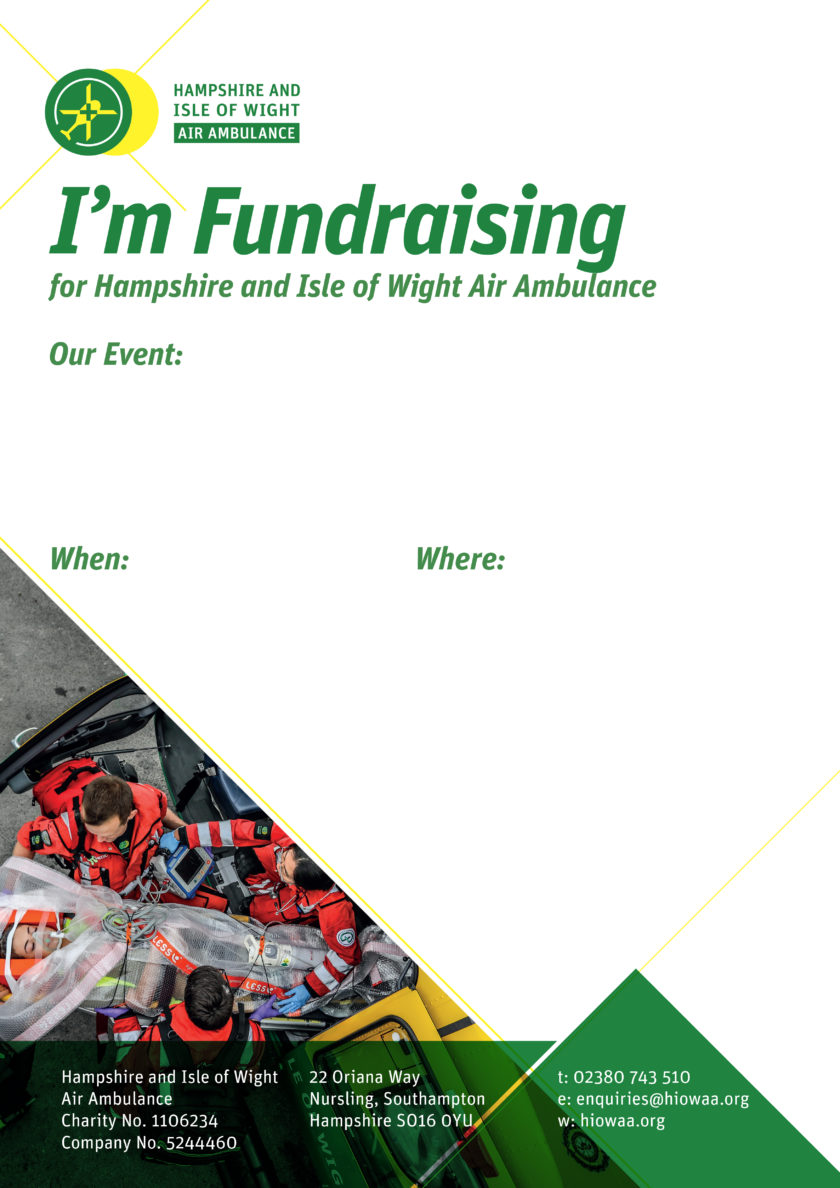 I'm Fundraising – Poster