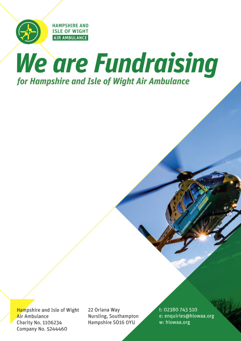 We are Fundraising – Poster