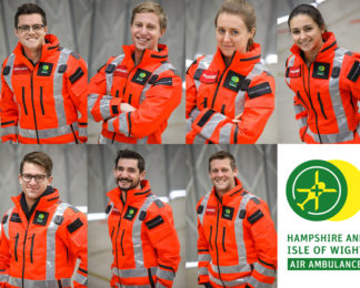 New Year, New Crew join Hampshire and Isle of Wight Air Ambulance