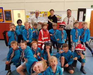 Save Up to Suit Up success for 3rd New Forest Beavers.