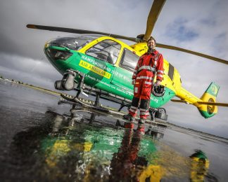 Hampshire and Isle of Wight Air Ambulance shortlisted for Air Ambulance Awards of Excellence