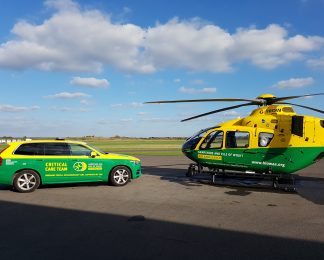 HIOWAA mark National Air Ambulance Week by revealing a 62 per cent increase in missions attended for first half of 2019