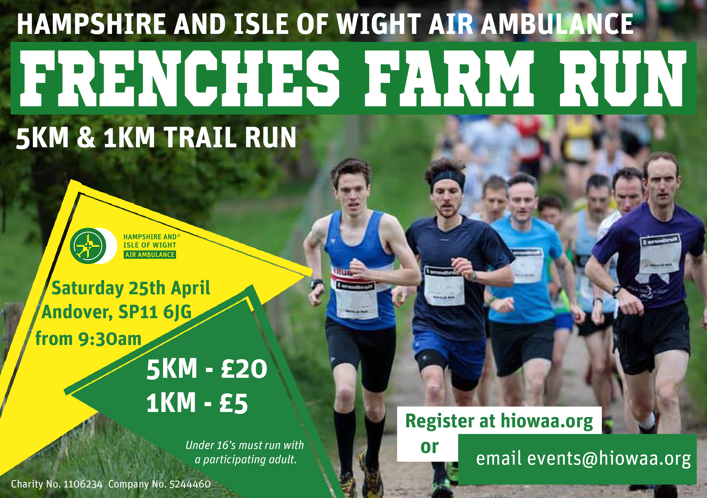 Frenches Farm Run Poster