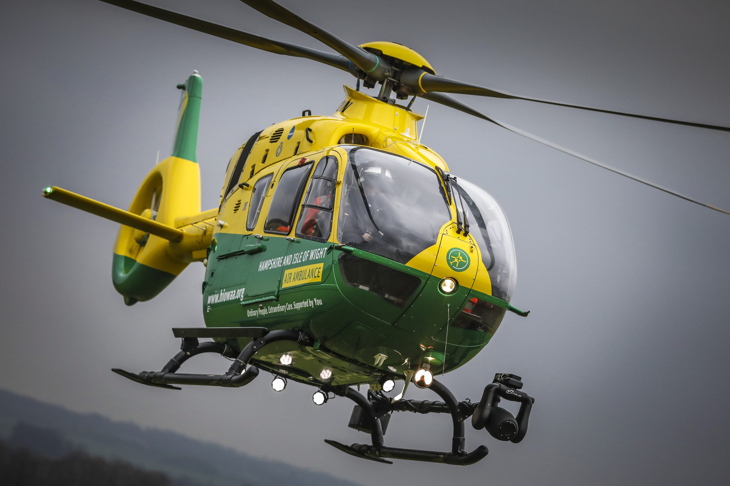 Helimed56 in flight