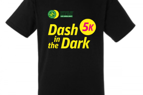 Dash in the Dark tshirt