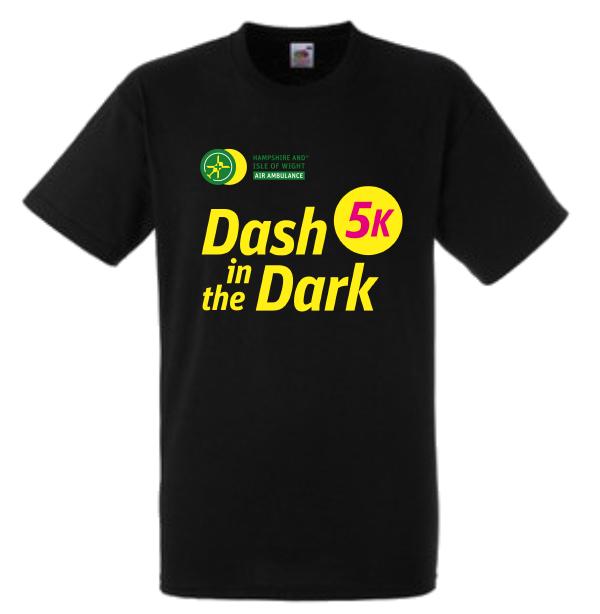 Dash in the Dark tshirt