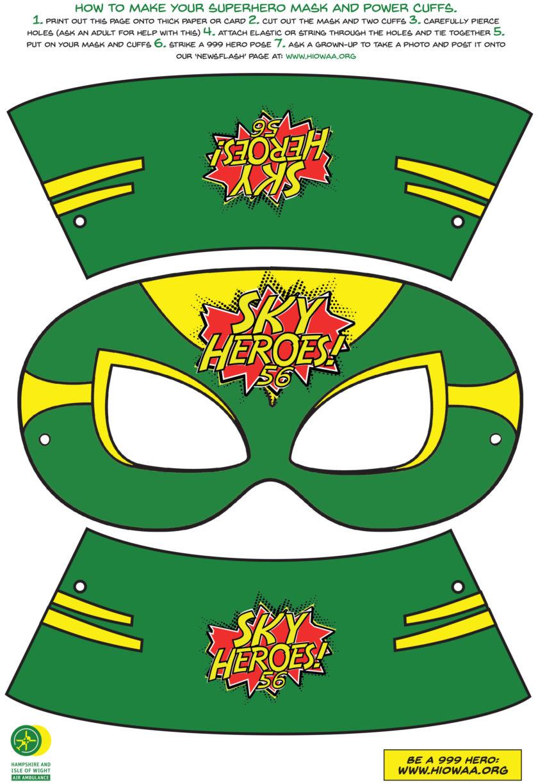 Activity – Superhero Mask