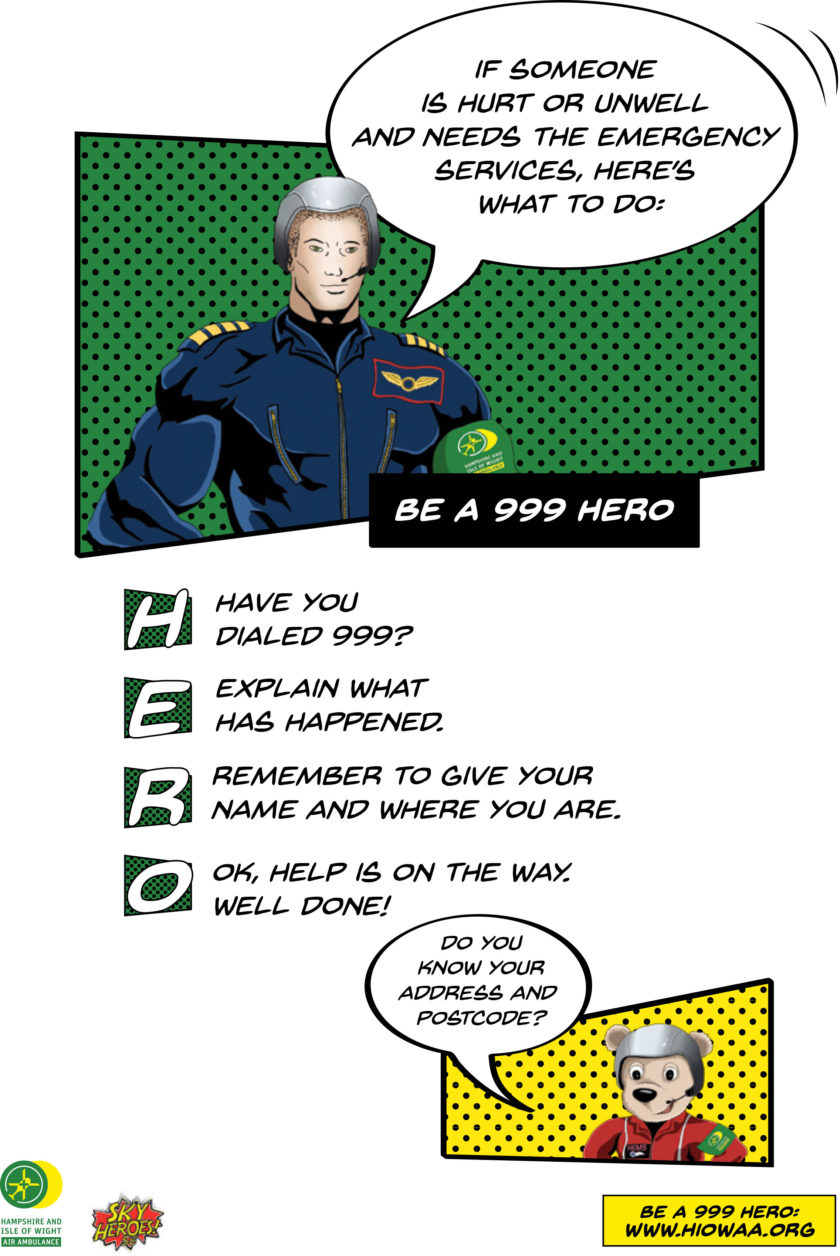 Learn – How to be a 999 Hero