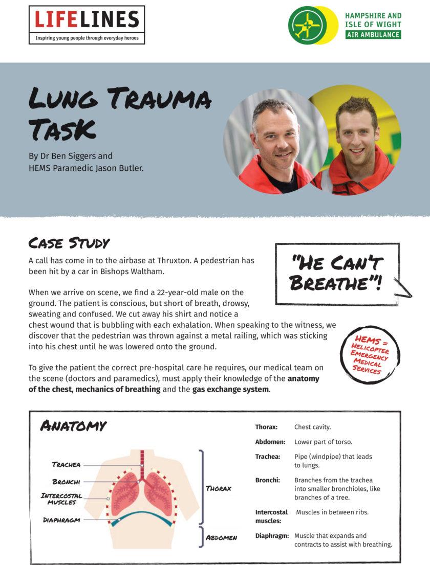 Trauma Task Project