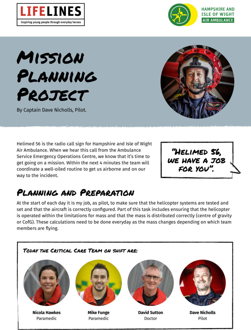 Mission Planning STEM Project