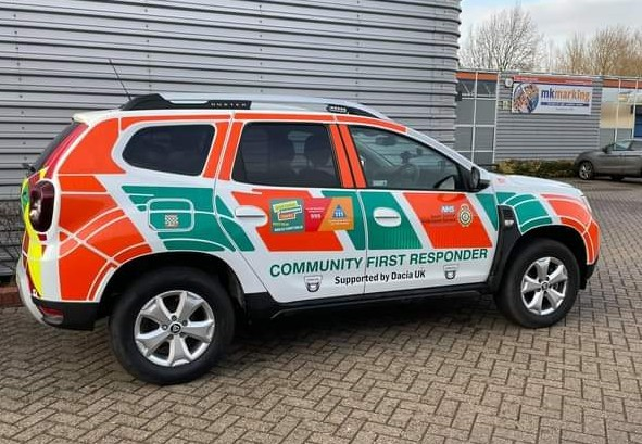 A Community First Response vehicle.