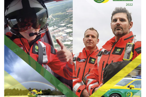 2022 Hampshire and Isle of Wight Air Ambulance diary